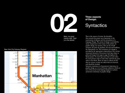 The Vignelli Canon — Syntactics century helvetica subway ui ui design webdesign syntactics massimo vignelli design