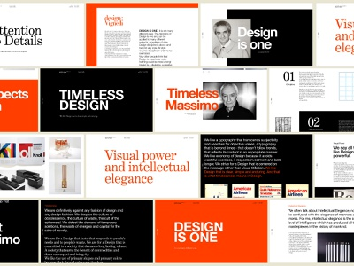 The Vignelli Canon — Overview timeless concept website webdesign canon vignelli ui design uiux ui massimo vignelli helvetica design century