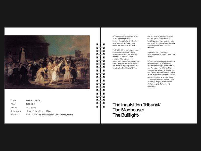 Francisco Goya — A Procession of Flagellants