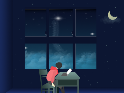 StaryNight cloud starry night