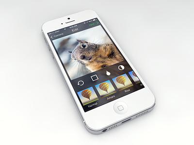 Instagram on iOS 7 flat fun app simple instagram ios7