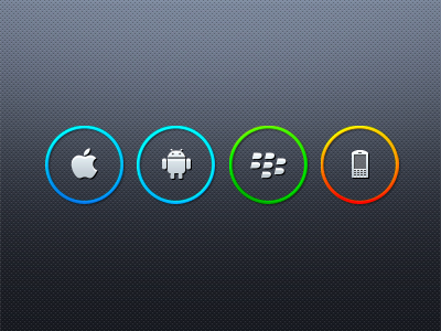 mobile platforms preview mobile icon platform ios android blackberry