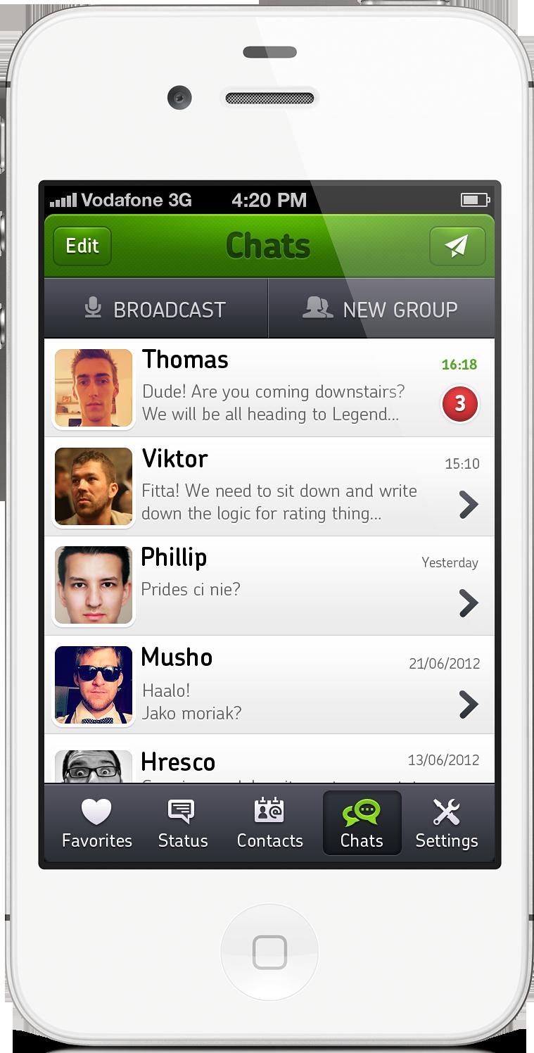 Whatsapp full preview