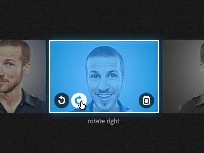 simple rotate image overlay