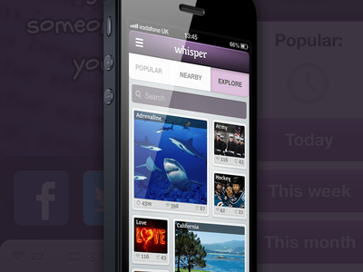 Whisper app new features