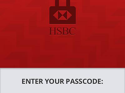 fun Splash page for HSBC Fast Balance play training ios redesign splash login