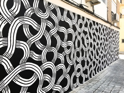 Intertwined Mural
