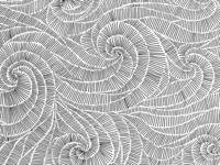 Hatched Swirls Pattern