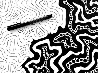 Water Surface Pattern– Process