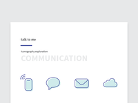 Iconography - Communication
