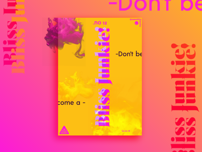 1st Sheet Section #12 inkscape vector drop motivation typography affiche poster