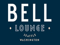 Bell Lounge logo design