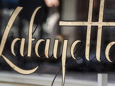 Lafayette sign