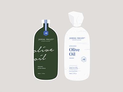 Jansal packaging olive oil food typography logotype identity brand logo