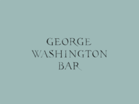 George Washington Bar