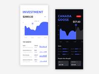Investment App UI Design
