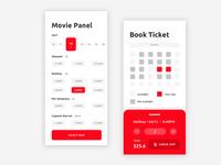 Movie Panel App UI Design