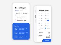 Flight Booking App UI Design