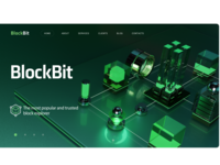 BlockBIt Landing page