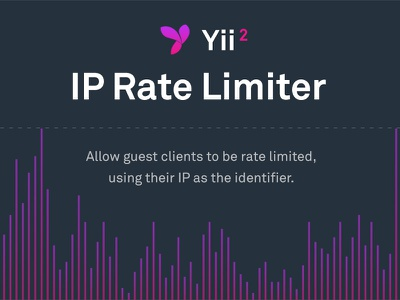 IP Rate Limiter for Yii2 bar chart stats development purple yii code gradient graph chart
