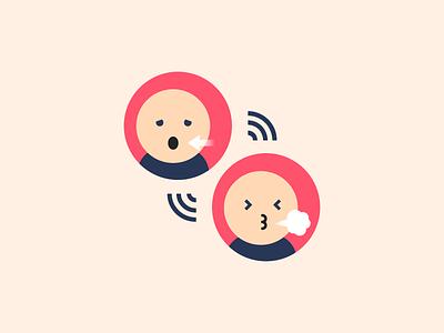 Wheezing symptom healthcare health icon design icon asthma wheezing