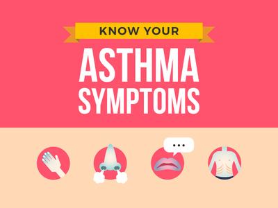 Infographic: Asthma Symptom Infographic