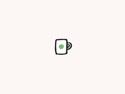 A Cup of hot chocolate christmas icon illustration cup mug coffee