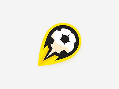 Futbol (Sunburst) athlete gym athletics sports team logo sports team futbol soccer