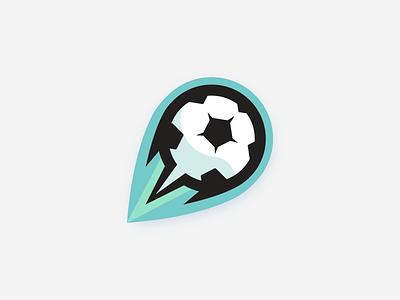 Futbol (Typhoon) athlete logo sports team futbol soccer