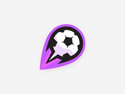 Futbol (Nebula) logo sports team futbol soccer athlete