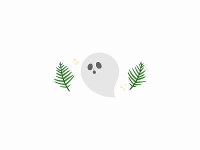Boo! boo spooky halloween design autumn fall seasonal illustration monster ghost