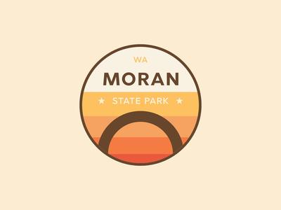 Moran State Park Badge