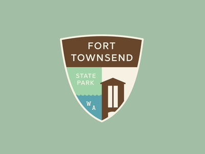 Fort Townsend State Park Badge