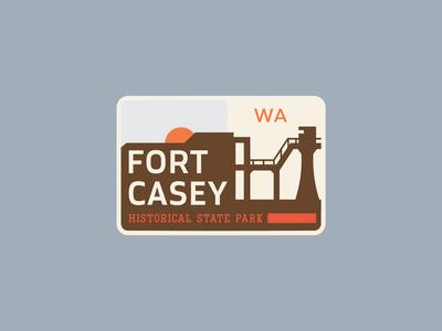 Fort Casey State Park Badge