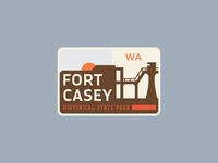 Fort Casey State Park Badge