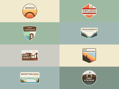 The First Eight - Pacific Coast Badge Series