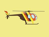 Magnum PI Helicopter