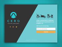 Cero Bikes Teaser