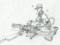Turntablist Sketch