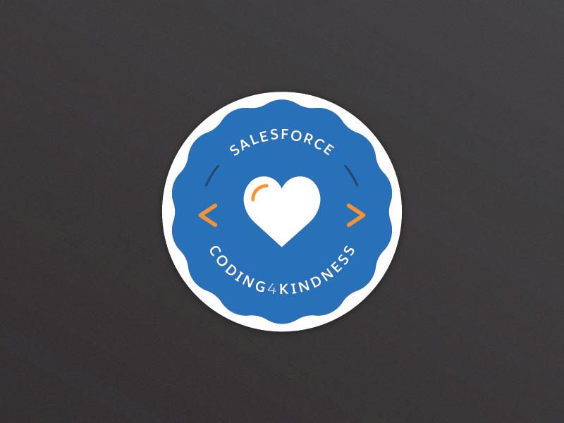 Coding4Kindness salesforce kindness coding