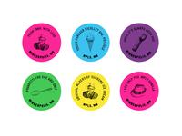 Sebastian Joe's  - Stickers