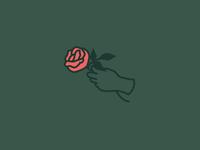 Joyce is Forever sweatshirt Rose Embroidery
