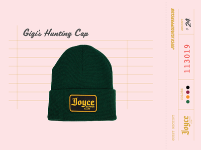Gigi's Hunting Cap