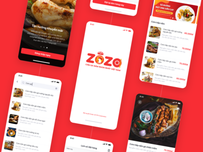 ZoZo - Food App Design