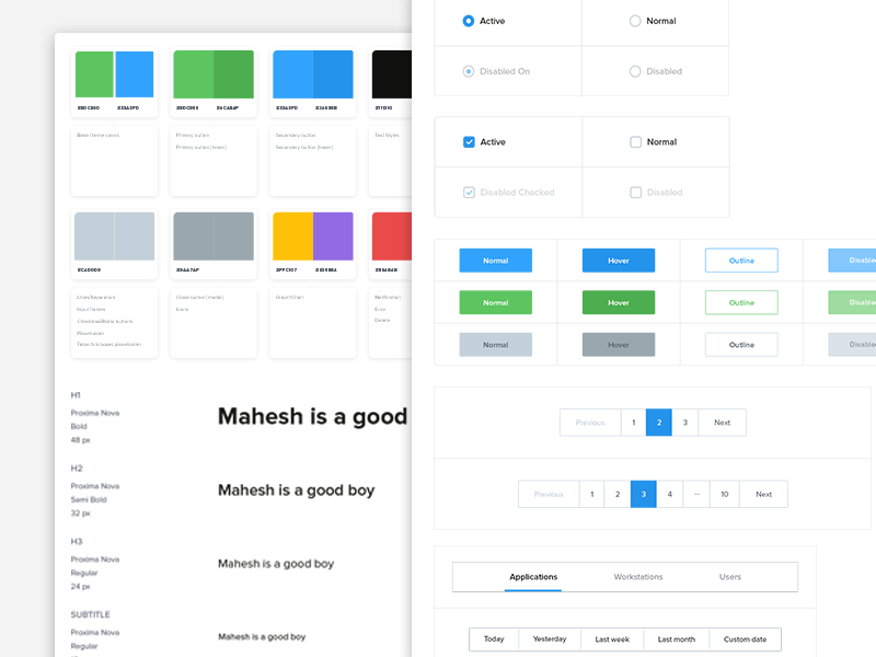 Style guide user experience style guide brand design web ux ui symbols guidelines styleguide branding