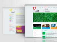 IAAD web design concept