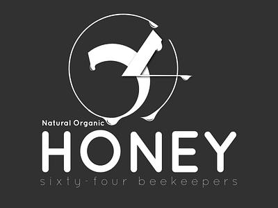 64 Honey graphic design logo design