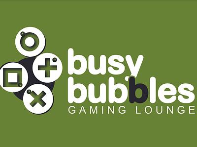 Busy Bubbles logo graphic design design