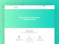 WordPress Plugin Service Landing Page