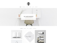01 02 massive minimal portfolio home
